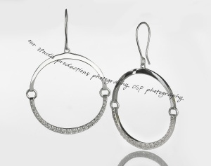 Sterling Silver Earrings by Angela George